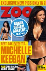 MICHELLE KEEGAN in Zoo Magazine, 27th March 2014 Issue