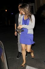 MILA KUNIS Out and About in Hollywood