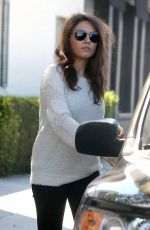 MILA KUNIS Out for Shopping in Los Angeles