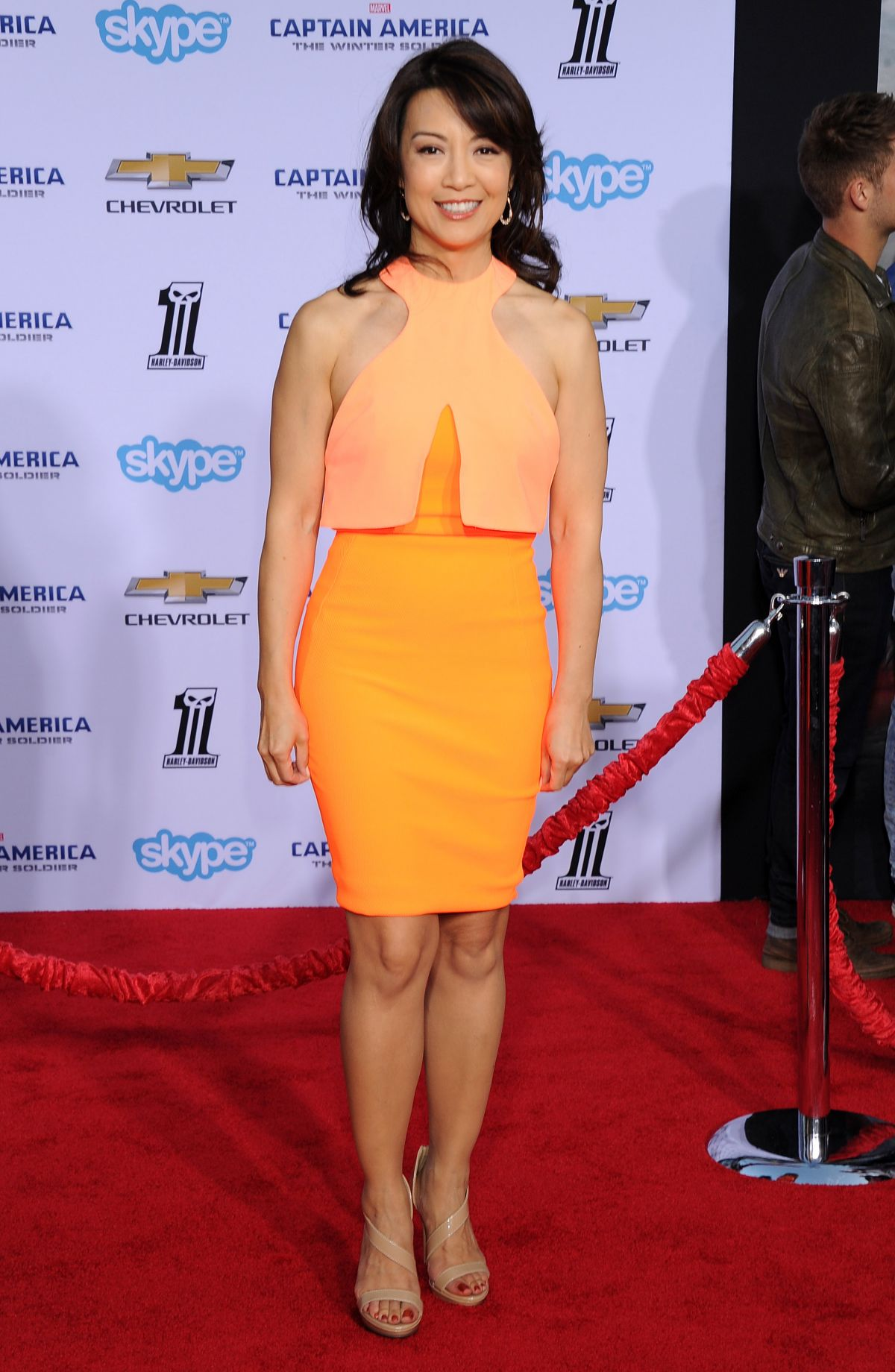 MING-NA WEN at Captain America: The Winter Soldier Premiere in Hollywood