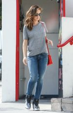 MINKA KELLY in Jeans Out and About in Los Angeles