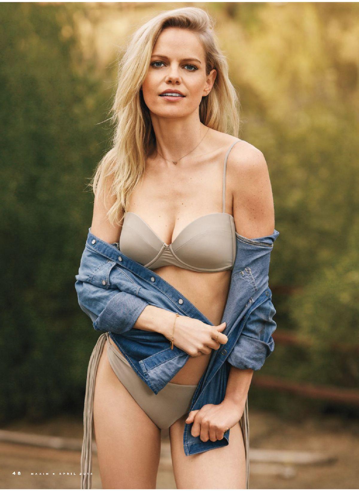 MIRCEA MONROE in Maxim Magazine, April 2014 Issue
