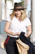 MISCHA BARTON Out and About in Venice