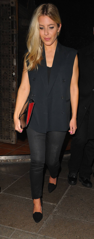 MOLLIE KING Leaves Chakana Nightclub in London