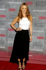 MOLLY SIMS at Game of Thrones Fourth Season Premiere in New York
