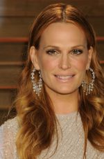 MOLLY SIMS at Vanity Fair Oscar Party in Hollywood