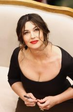 MONICA BELLUCCI at Dolce & Gabbana Shop Photocall in Moscow
