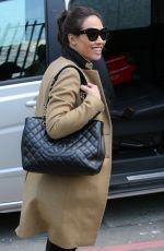 MYLEENE KLASS Arrives at a Studio in London