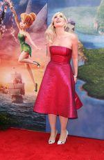 NATASHA BEDINGFIELD at The Pirate Fairy Premiere in Burbank