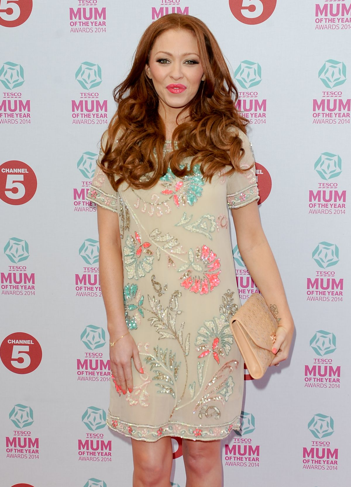 NATASHA HAMILTON at Tesco Mum of the Year Awards in London