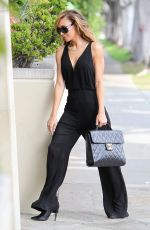NAYA RIVERA Leaves Photoshoot for  Bongo Jeans in Los Angeles