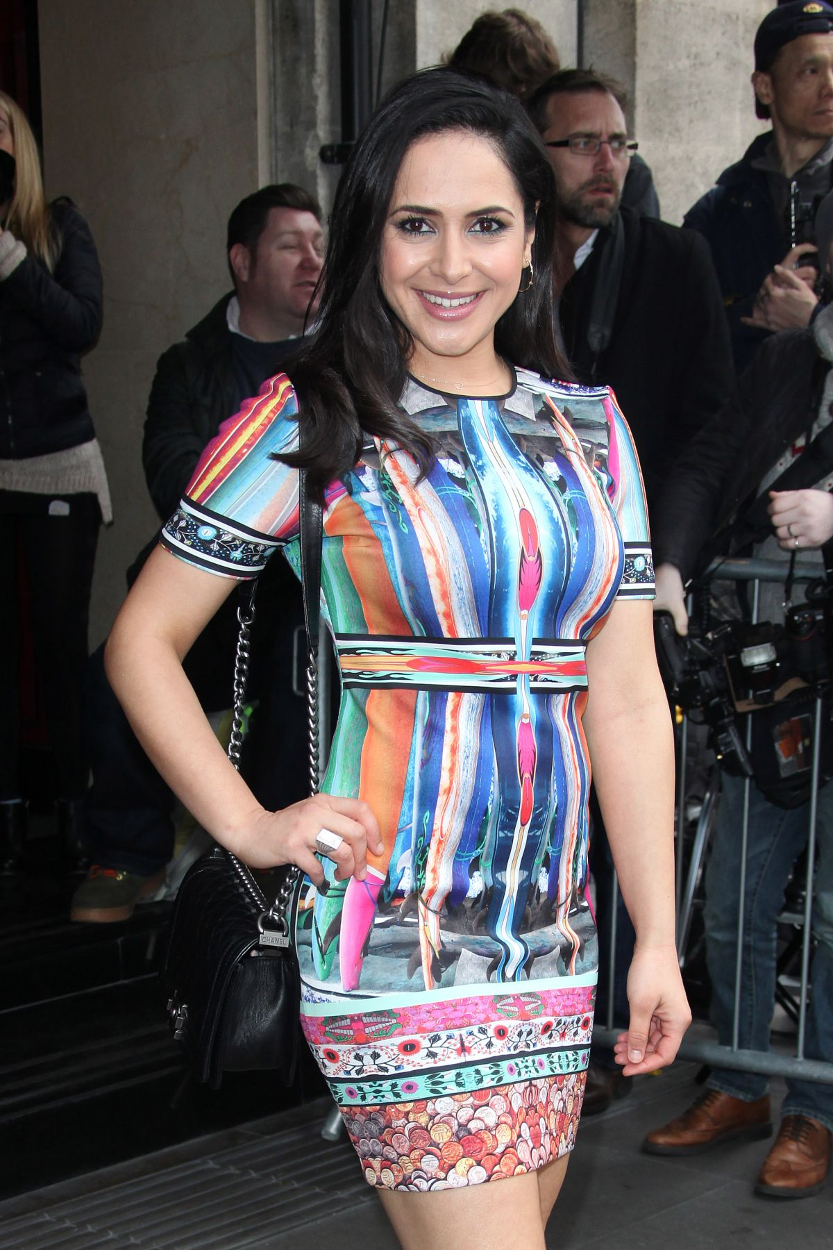 NAZANEEN GHAFFAR at TRIC Awards 2014 in London