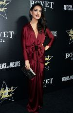 NAZANIN BONIADI at 7th Annual Hollywood Domino and Bovet 1822 Gala in West Hollywood