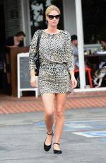 NICKY HILTON Leaves Fred Segal in Los Angeles