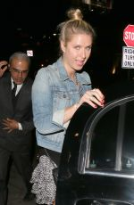 NICKY HILTON Leaves the Chateau Marmont in Los Angeles