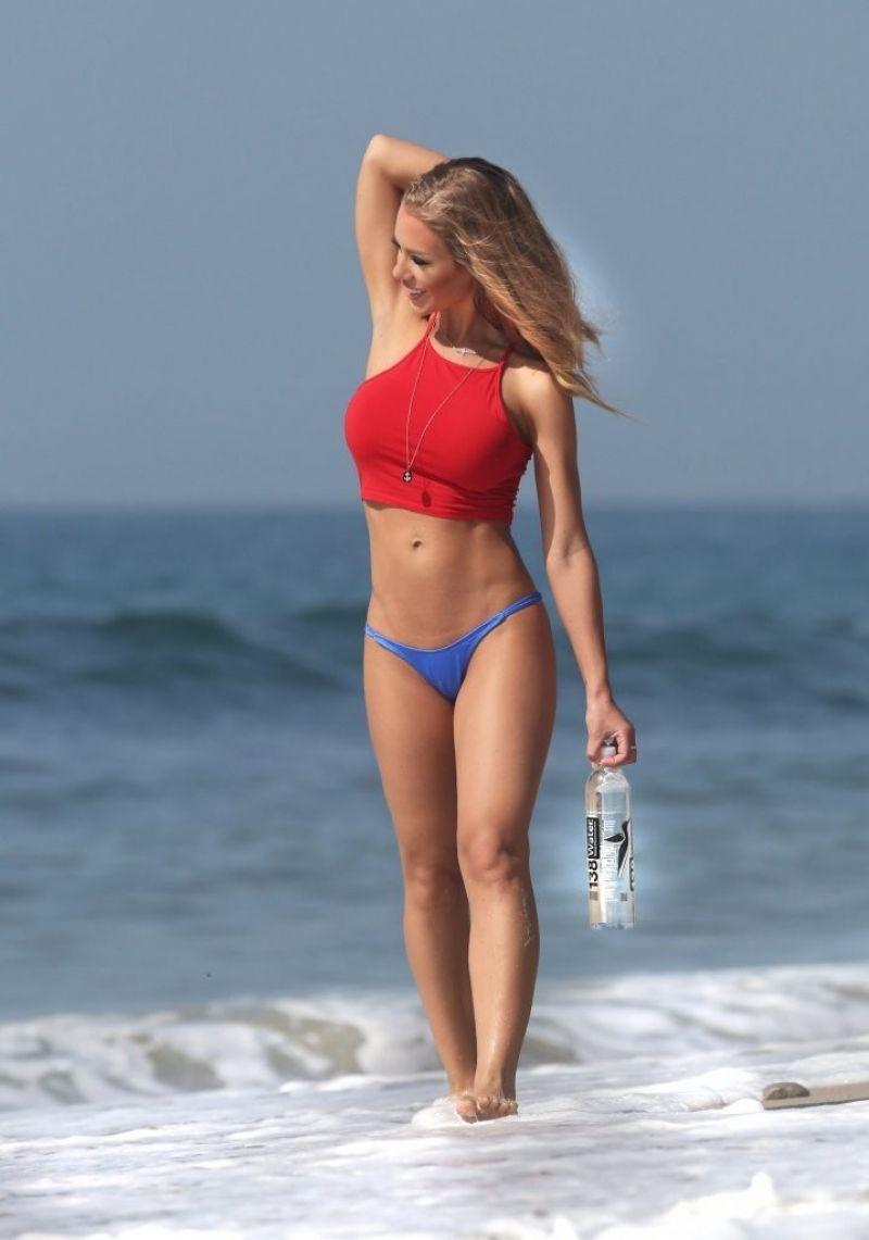 NICOLE ANSITON at 138 Water Photoshoot in Malibu