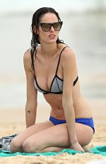 NICOLE TRUNFIO in Bikini at a Beach in Sydney