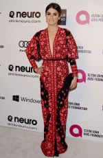 NIKKI REED at Elton John Aids Foundation Oscar Party in Los Angeles