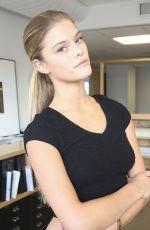 NINA AGDAL - Black Bikini Polaroids Elite