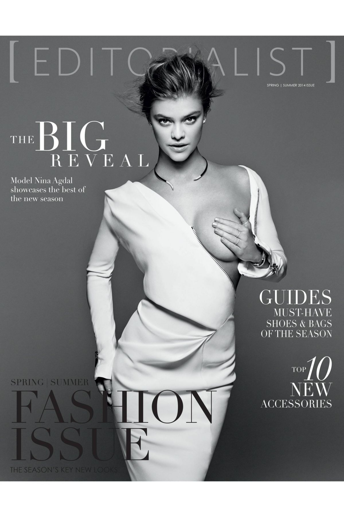 NINA AGDAL in Editorialist : Print Edition, Spring/Summer 2014 Issue