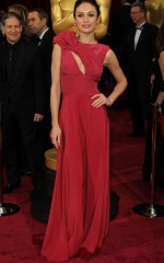 Olga Kurylenko at 86th Annual Academy Awards in Hollywood