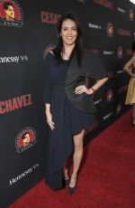 OLGA SEGURA at Cesar Chavez Premiere in Los Angeles