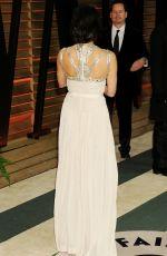 OLIVIA MUNN at Vanity Fair Oscar Party in Hollywood