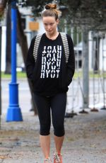 OLIVIA WILDE Leaves Pilates Classes at Harmony Studios in Hollywood