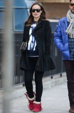 OLIVIA WILDE Out and About in new York 0803