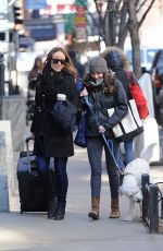 OLIVIA WILDE Out and About in New York 2703
