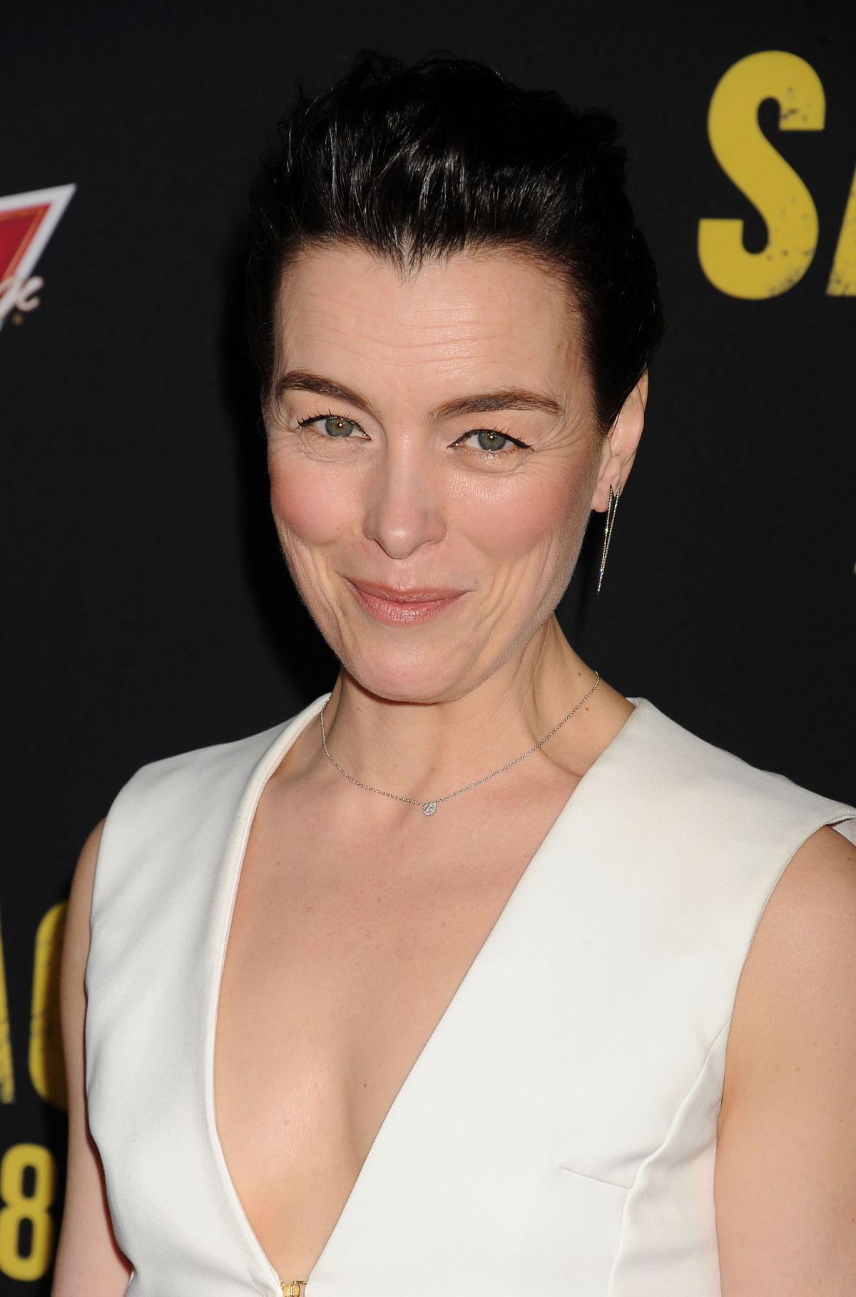 OLIVIA WILLIAMS at Sabotage Premiere in Los Angeles