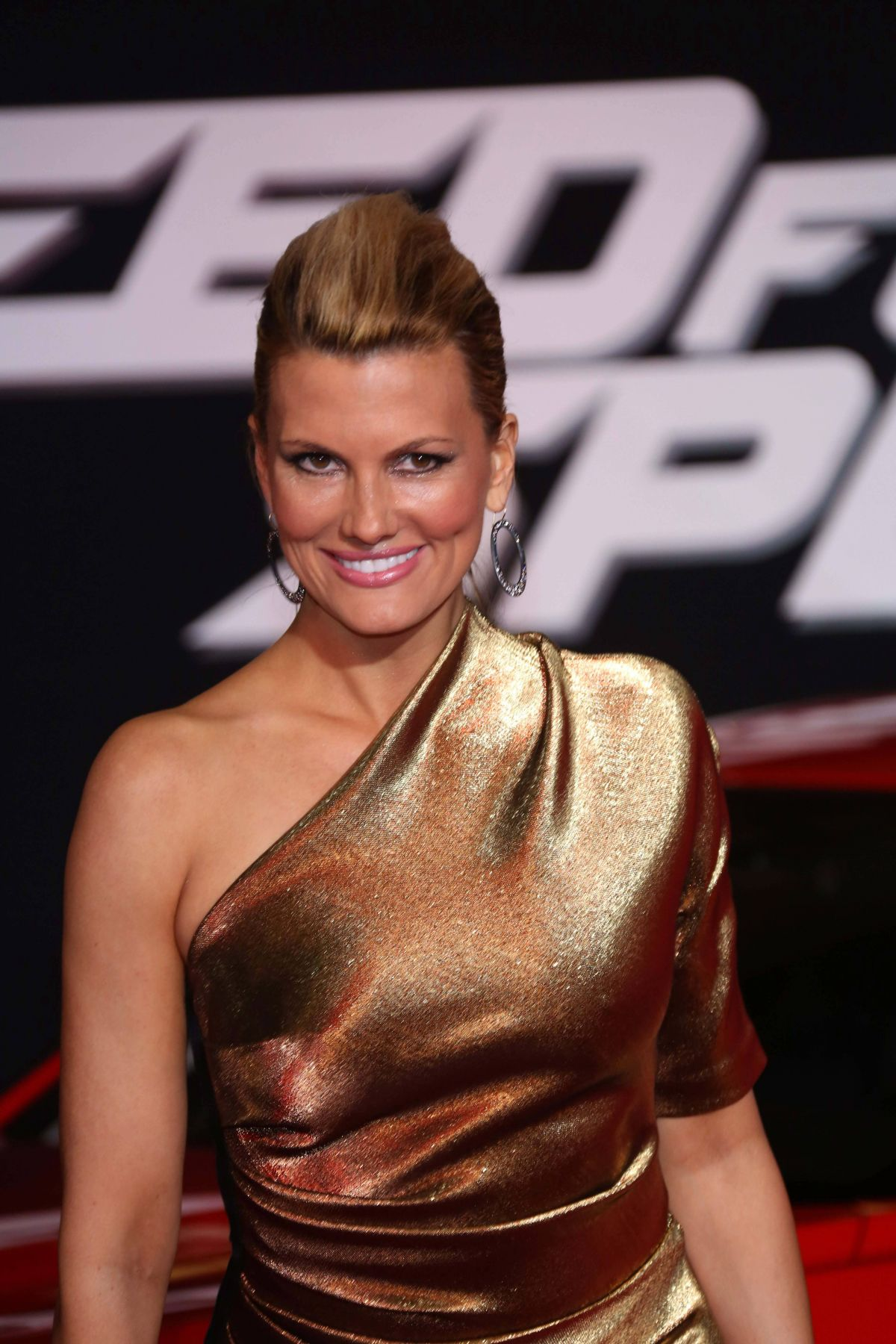 OURTNEY HANSEN at Need for Speed Premiere in Hollywood