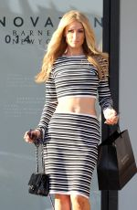 PARIS HILTON Out and About in Beverly Hills