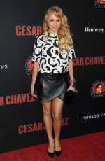 PAULINA RUBIO at Cesar Chavez Premiere in Hollywood