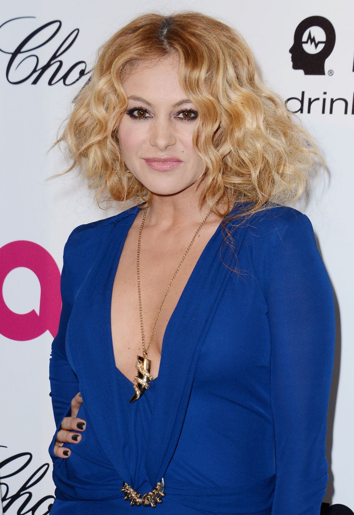 PAULINA RUBIO at Elton John Aids Foundation Oscar Party in Los Angeles