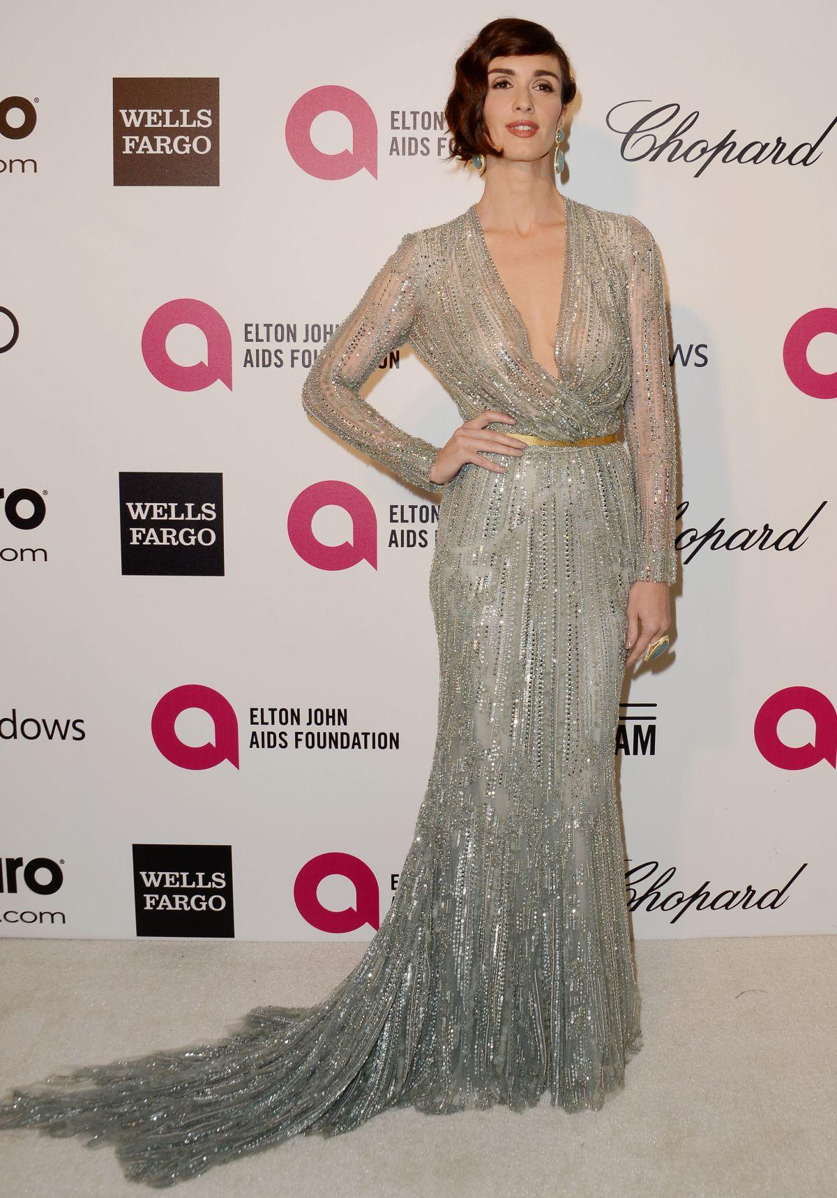 PAZ VEGA at Elton John Aids Foundation Oscar Party in Los Angeles