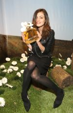 PHOEBE TONKIN at Marc Jacobs Daisy Tweet Shop in New York