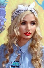 PIA MIA PEREZ at 2014 Nickelodeon's Kids' Choice Awards in Los Angeles