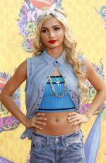 PIA MIA PEREZ at 2014 Nickelodeon's Kids' Choice Awards in Los Angeles