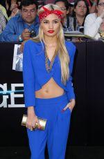 PIA MIA PEREZ at Divergent Premiere in Los Angeles