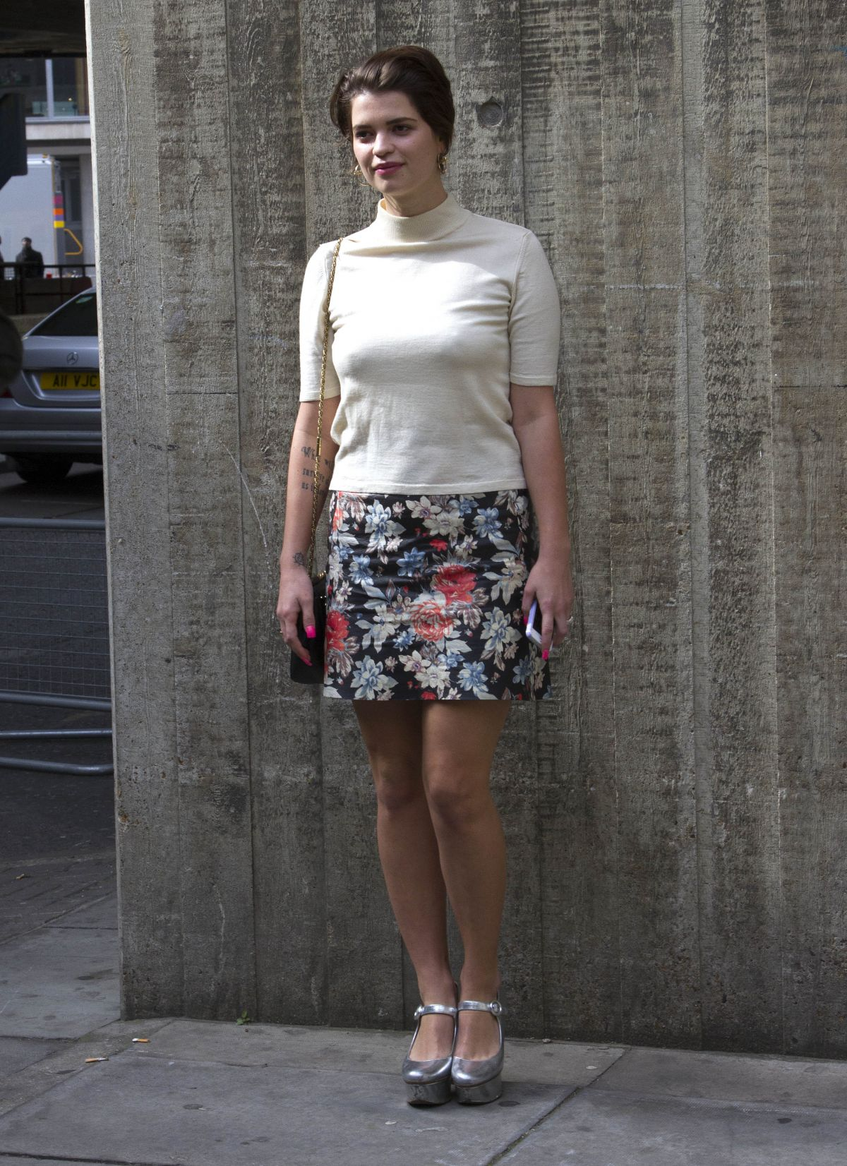 PIXIE GELDOF at the Vogue Festival 2014 in London