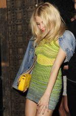 PIXIE LOTT Leaves Chakana Nightclub in London