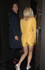 PIXIE LOTT Leaves the Century Club in London