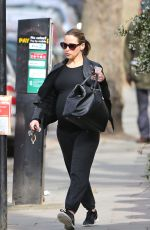 RACHEL STEVENS Out and About in London