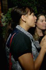 RASHIDA JONES at Caudalie Boutique Spa Grand Opening