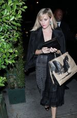 REESE WITHERSOON at Ago Restaurant in West Hollywood