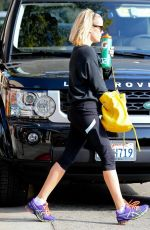 REESE WITHERSPOON in Tight Leggings Heading to a Gym in Brentwood