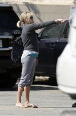 REESE WITHERSPOON Leaves CVS Pharmacy in Brentwood