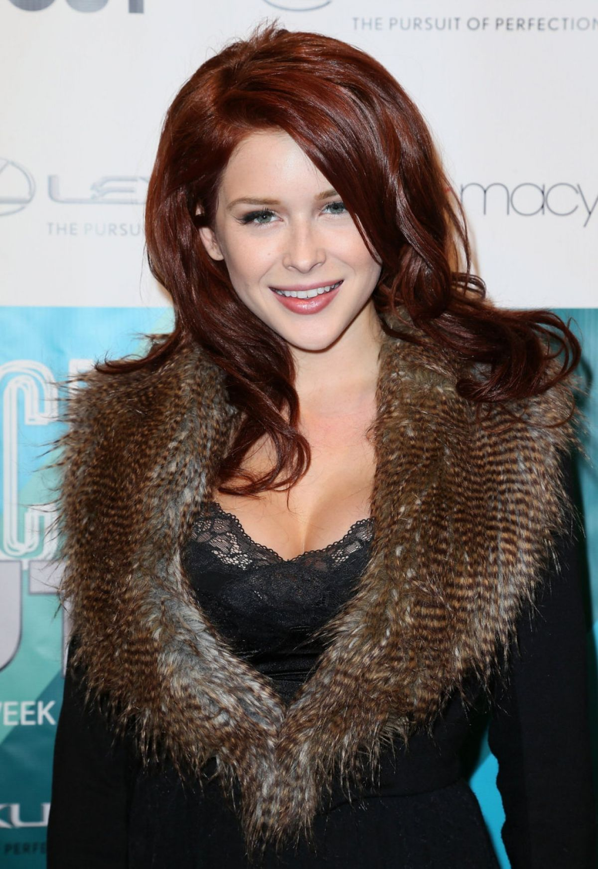 RENEE OLSTEAD at Out Magazine's Rock Out LS Fashion Kickoff Event