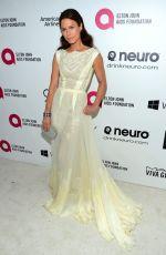RHONA MITRA at Elton John Aids Foundation Oscar Party in Los Angeles